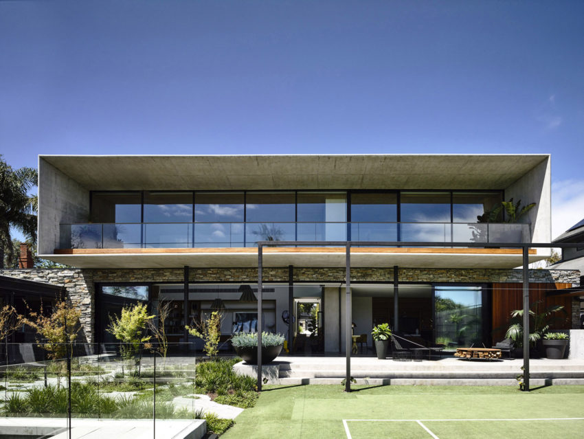 Concrete House by Matt Gibson Architecture (7)
