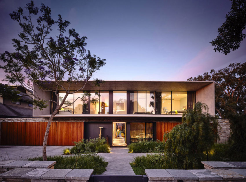 Concrete House by Matt Gibson Architecture (19)