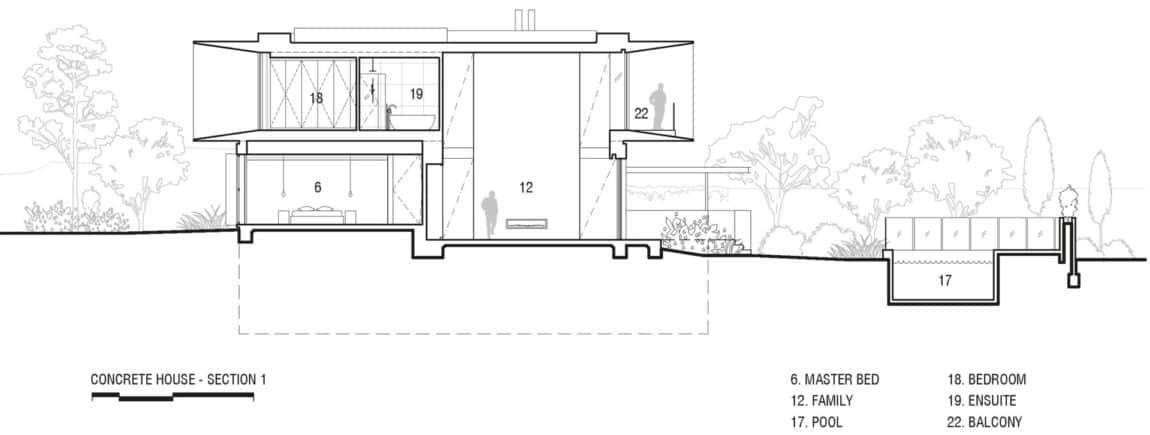 Concrete House by Matt Gibson Architecture (23)
