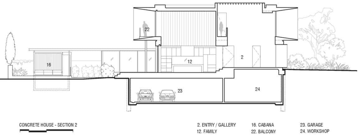 Concrete House by Matt Gibson Architecture (24)