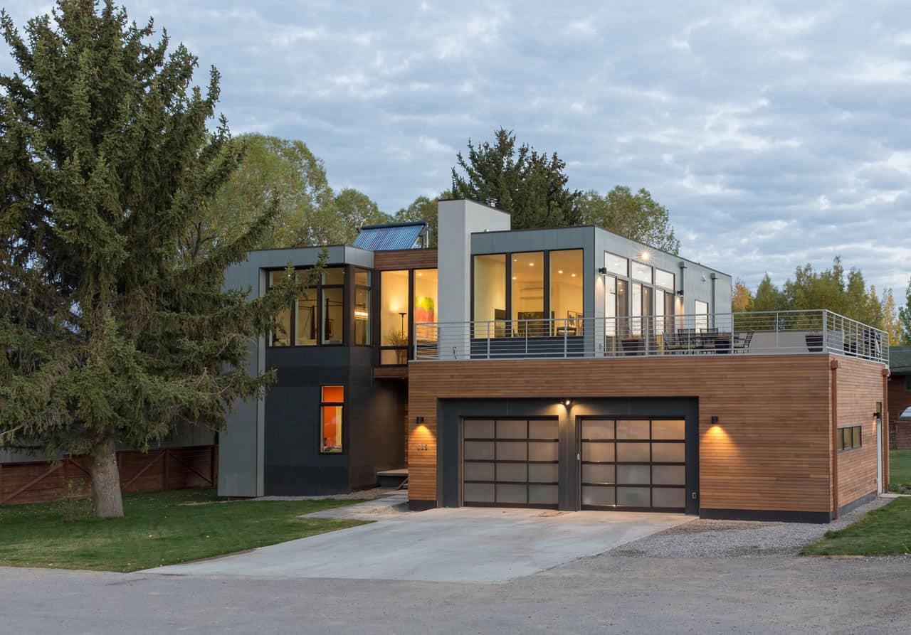 Jackson Hole Prefab By Chris Pardo Design Elemental Architecture Method Homes