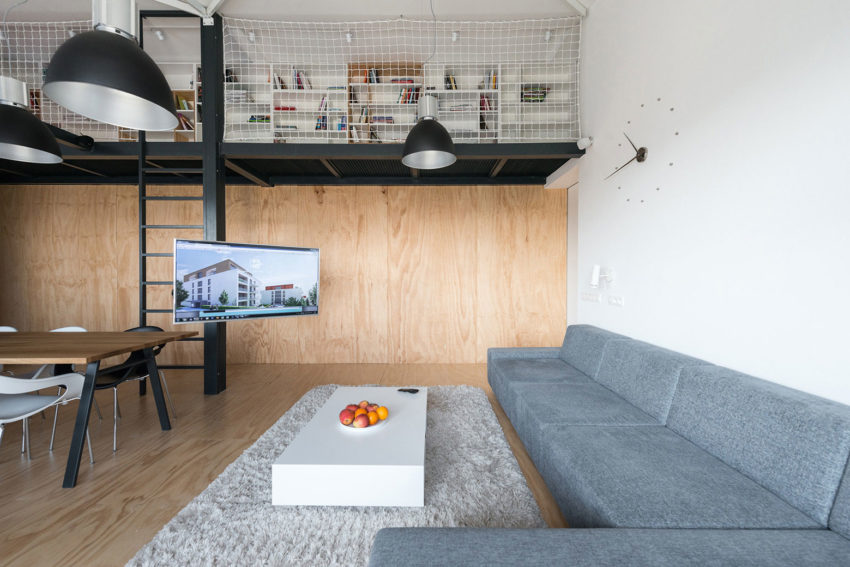 Loft Apartment in Superstructure by RULES architects (3)