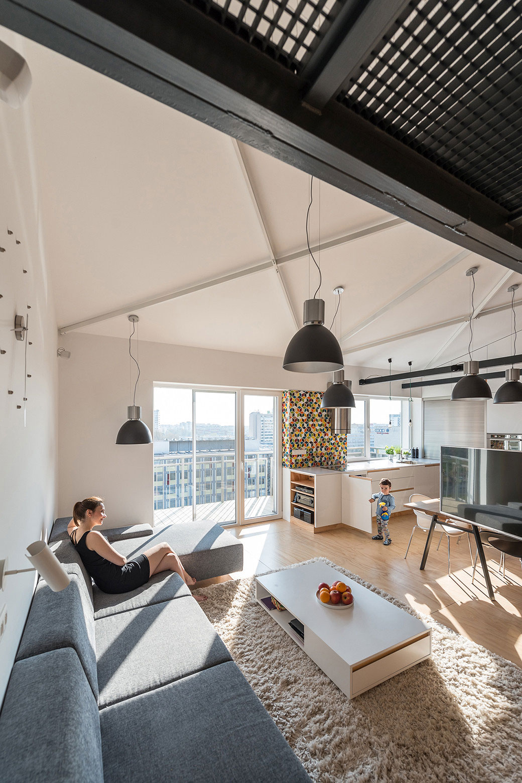 Loft Apartment in Superstructure by RULES architects (5)