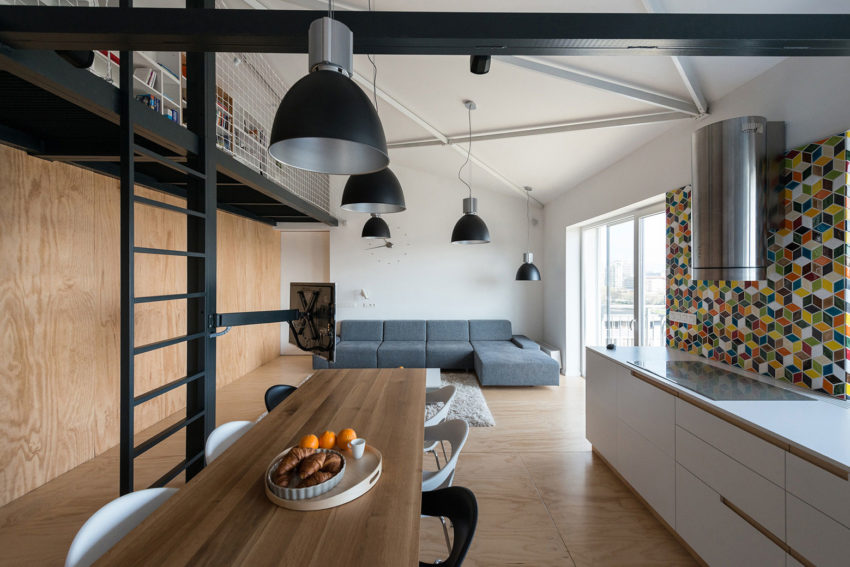 Loft Apartment in Superstructure by RULES architects (11)