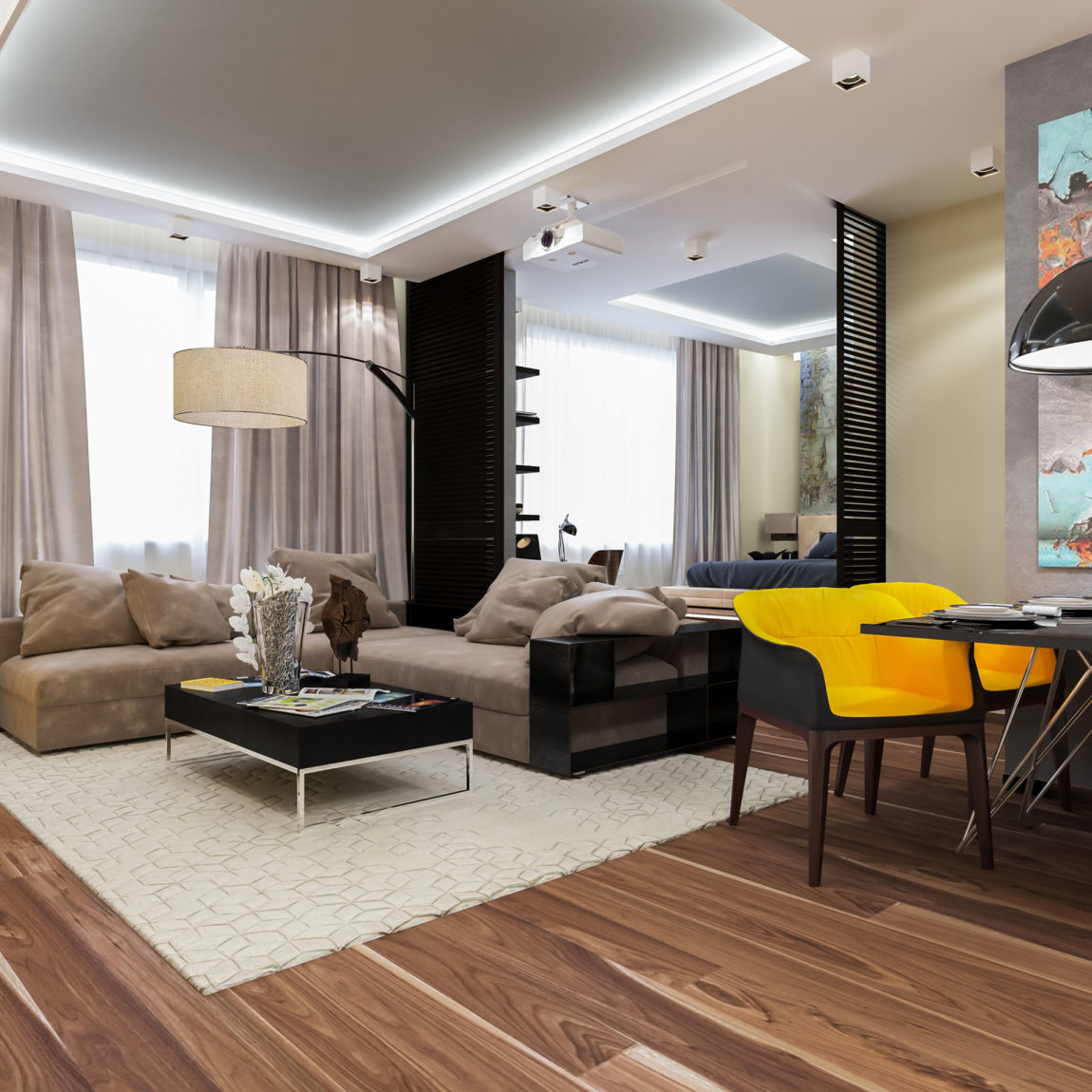 Apartment in Moscow by Interierium (1)
