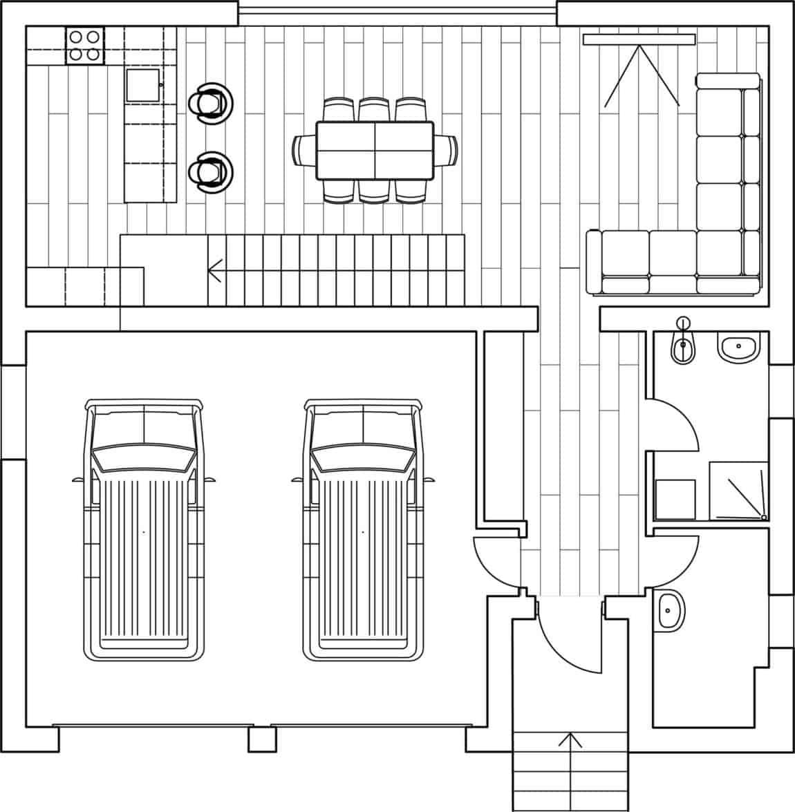 Cube House by Yakusha Design (13)