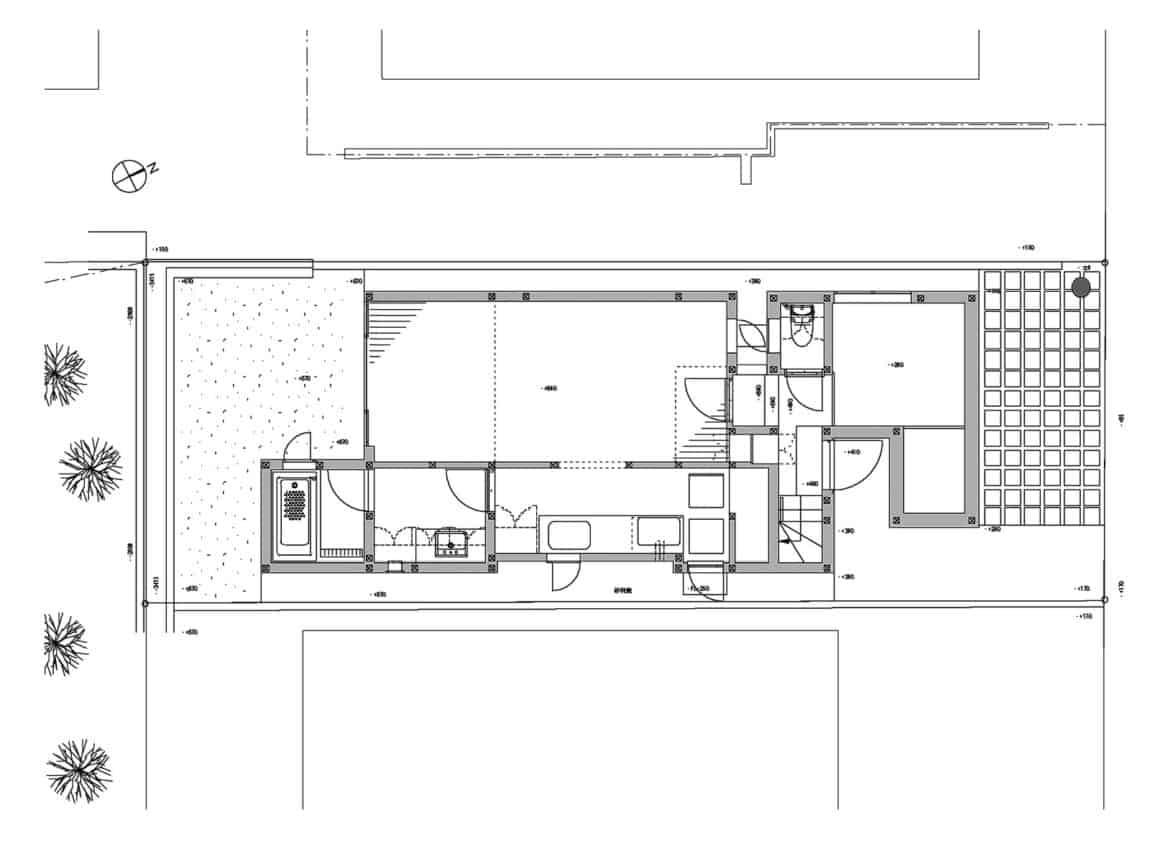 House in Tama-Plaza by Takushu ARAI Architects (14)