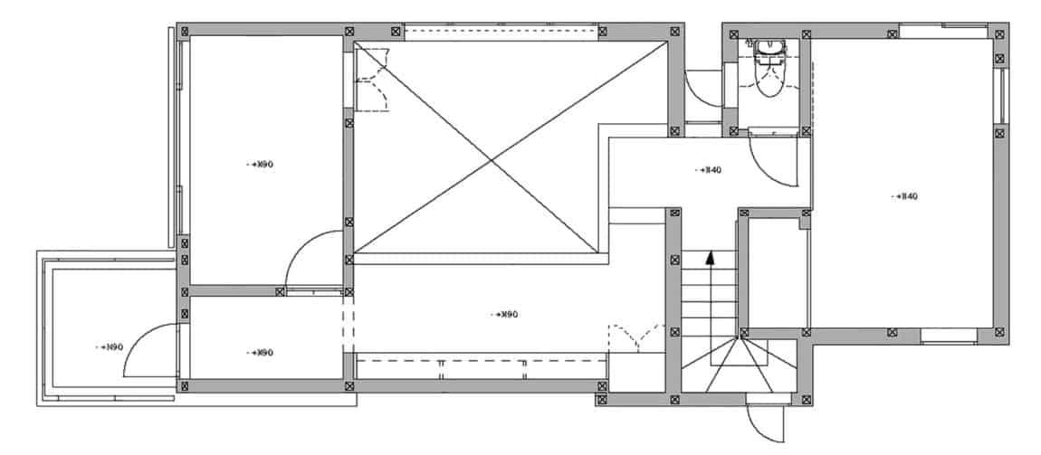 House in Tama-Plaza by Takushu ARAI Architects (16)