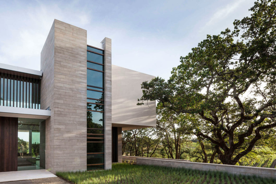 Retrospect Vineyards Residence by Swatt Miers Architects (2)