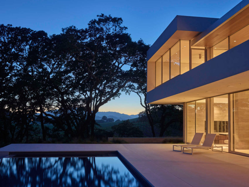 Retrospect Vineyards Residence by Swatt Miers Architects (12)