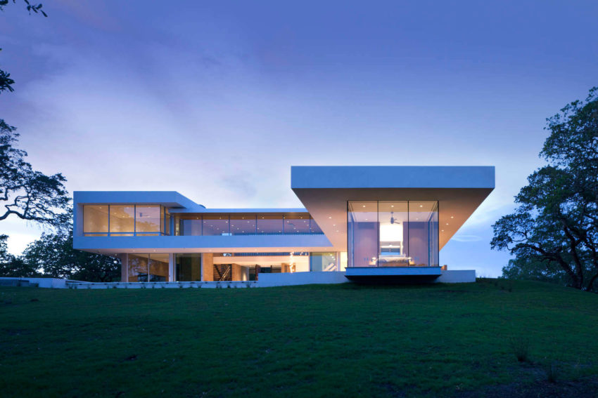 Retrospect Vineyards Residence by Swatt Miers Architects (14)