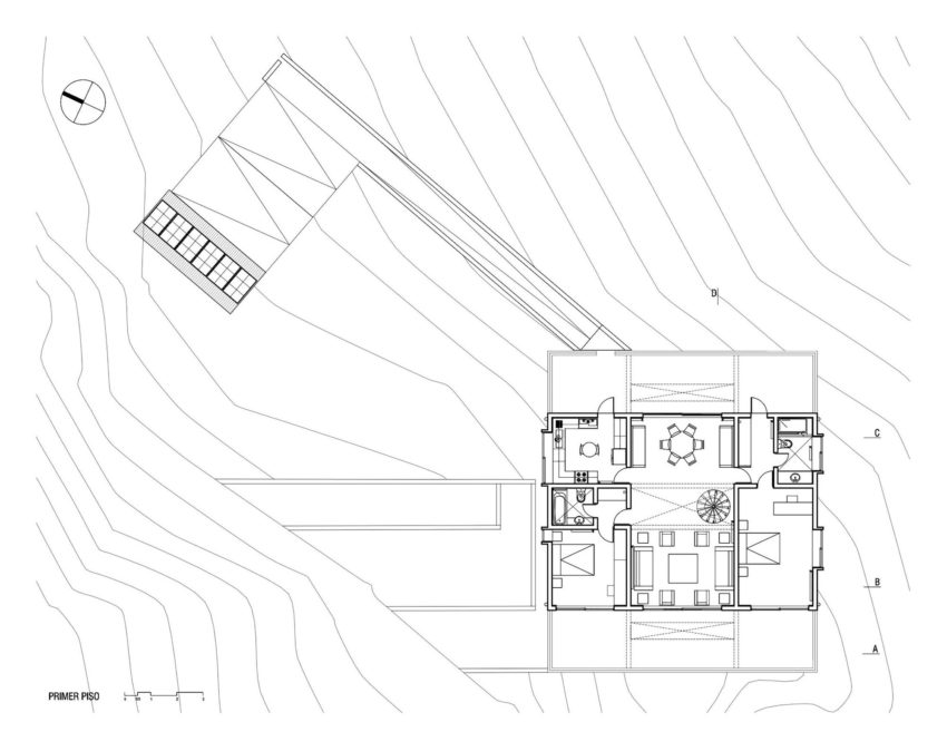The Mirador House by Gubbins Arquitectos (14)