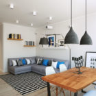 Apartment in Moscow by Geometrium (4)