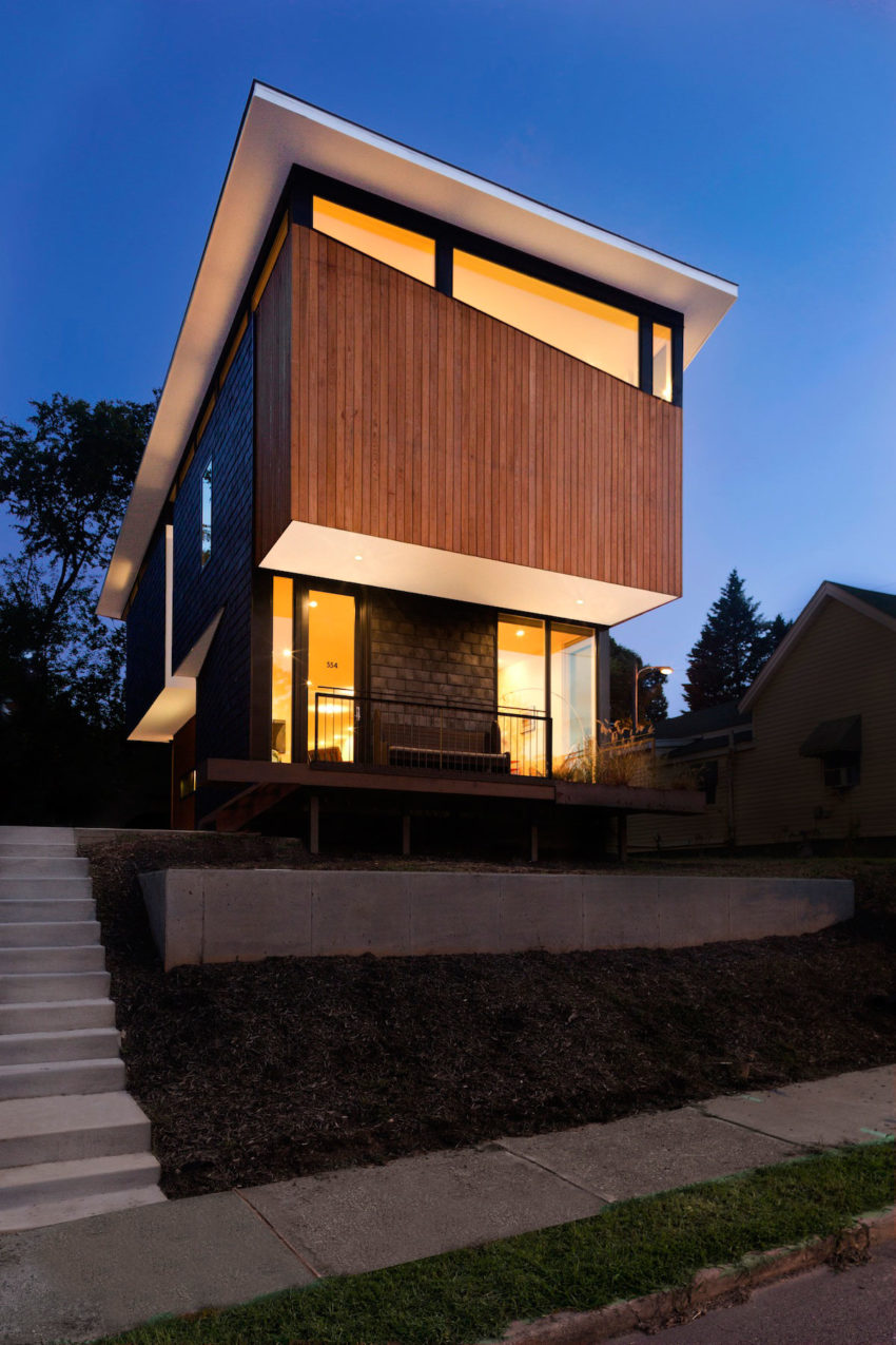 Edenton St Duo By Raleigh Architecture Company