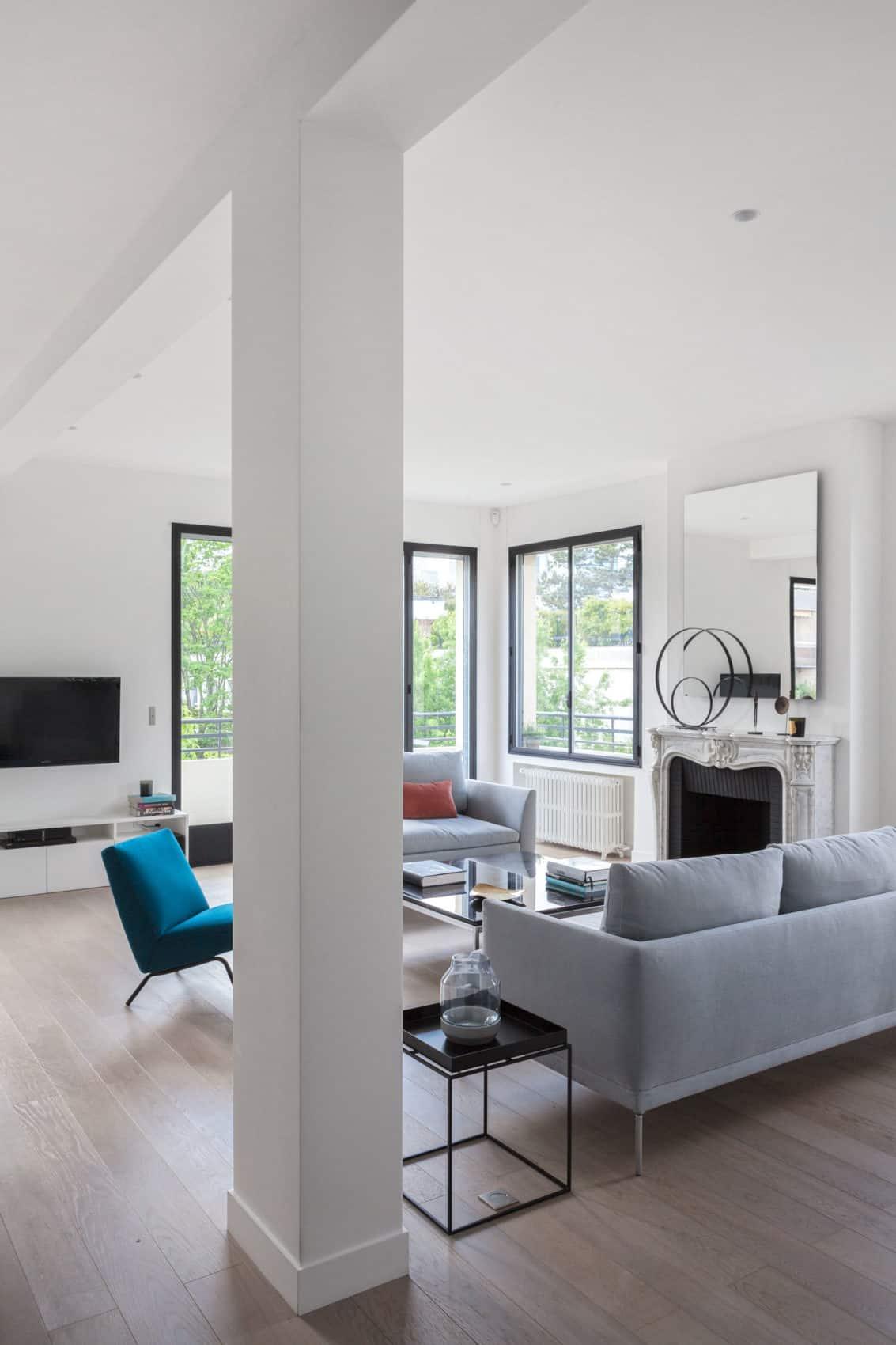 Elegant Home Re-Designed by Agence Frédéric Flanquart (2)