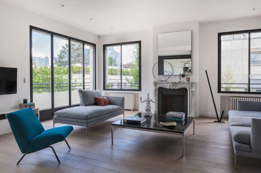Elegant Home Re-Designed by Agence Frédéric Flanquart (3)