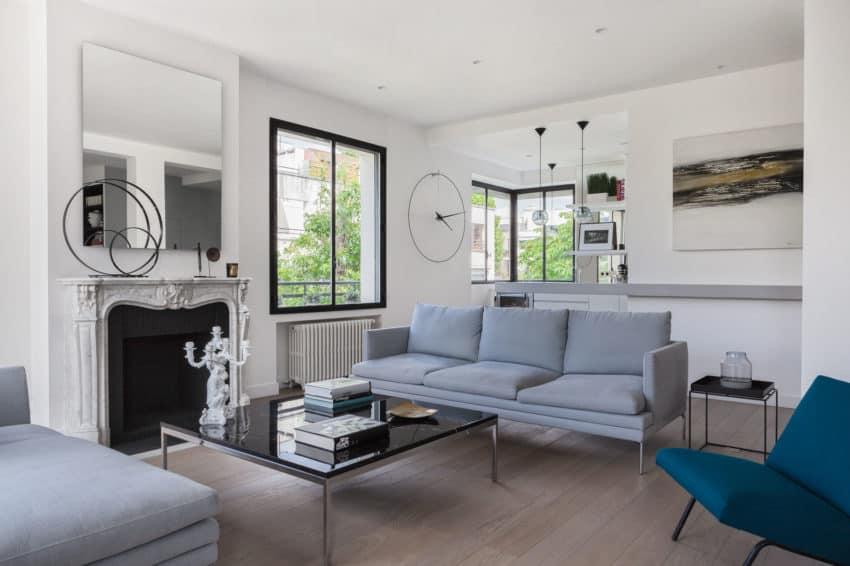 Elegant Home Re-Designed by Agence Frédéric Flanquart (4)