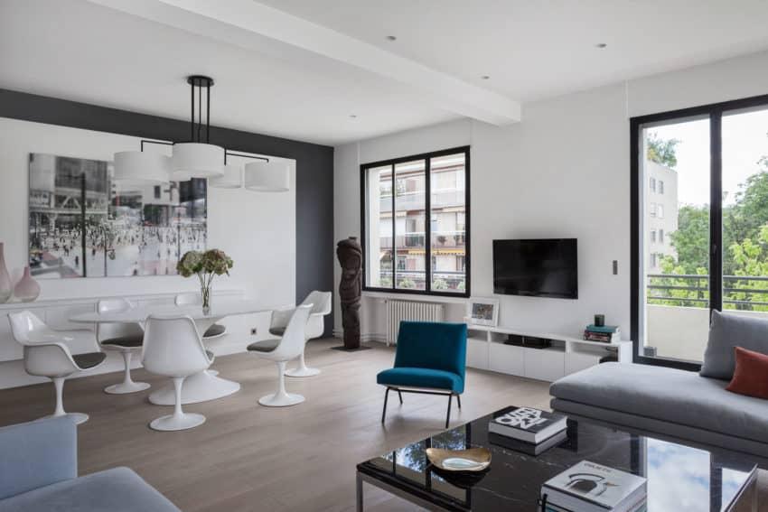 Elegant Home Re-Designed by Agence Frédéric Flanquart (7)