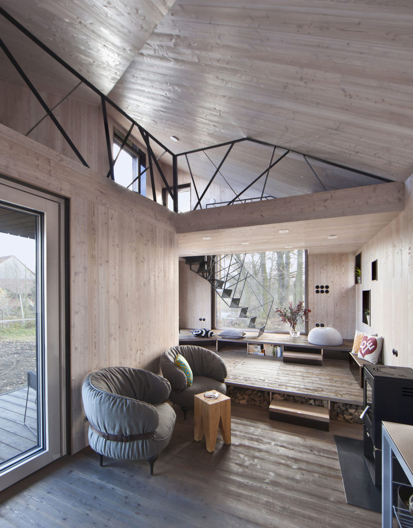 Energy Efficient Wooden House Zilvar by ASGK Design (5)