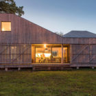 Energy Efficient Wooden House Zilvar by ASGK Design (14)