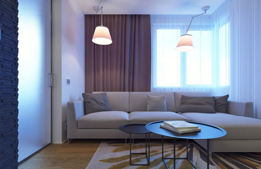 Eugene Meshcheruk Designs Cozy 500-Square-Foot Apartment (2)