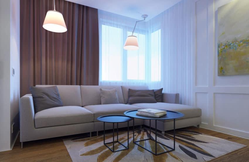 Eugene Meshcheruk Designs Cozy 500-Square-Foot Apartment (3)