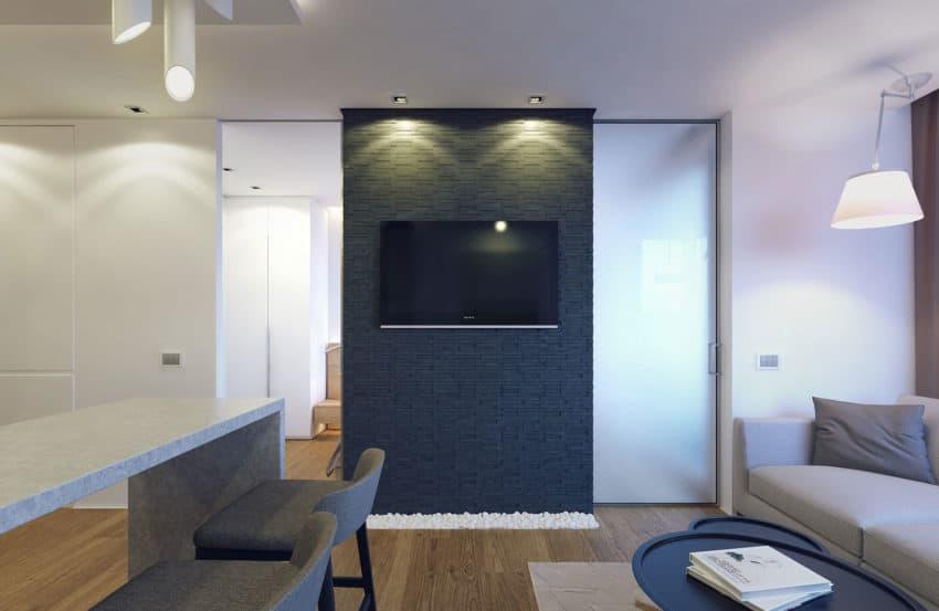 Eugene Meshcheruk Designs Cozy 500-Square-Foot Apartment (4)