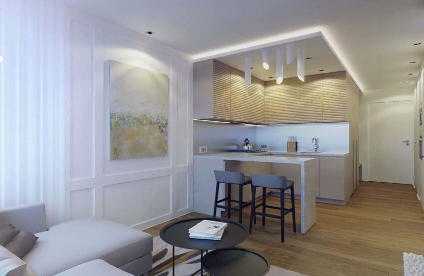 Eugene Meshcheruk Designs Cozy 500-Square-Foot Apartment (6)