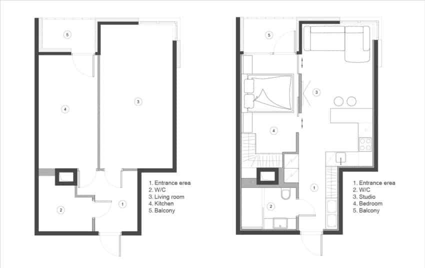 Eugene Meshcheruk Designs Cozy 500-Square-Foot Apartment (14)