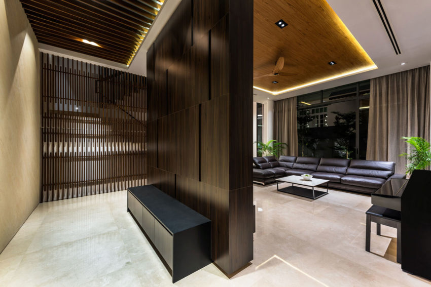Green Wall House By Adx Architects Pte Ltd
