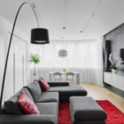 Tikhonov Dsgn Creates Tiny Apartment Interior in Moscow (2)