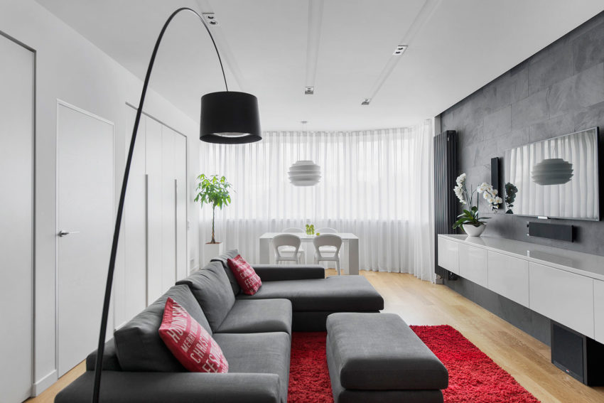 Tikhonov Dsgn Creates Tiny Apartment Interior in Moscow (2)