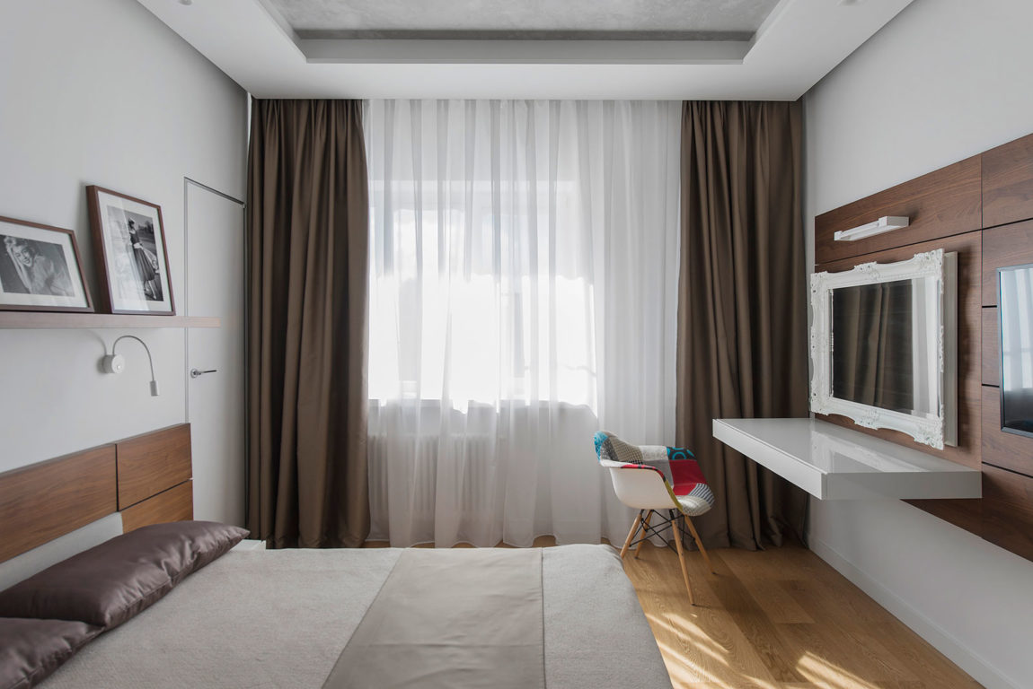 Tikhonov Dsgn Creates Tiny Apartment Interior in Moscow (14)