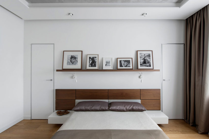 Tikhonov Dsgn Creates Tiny Apartment Interior in Moscow (15)