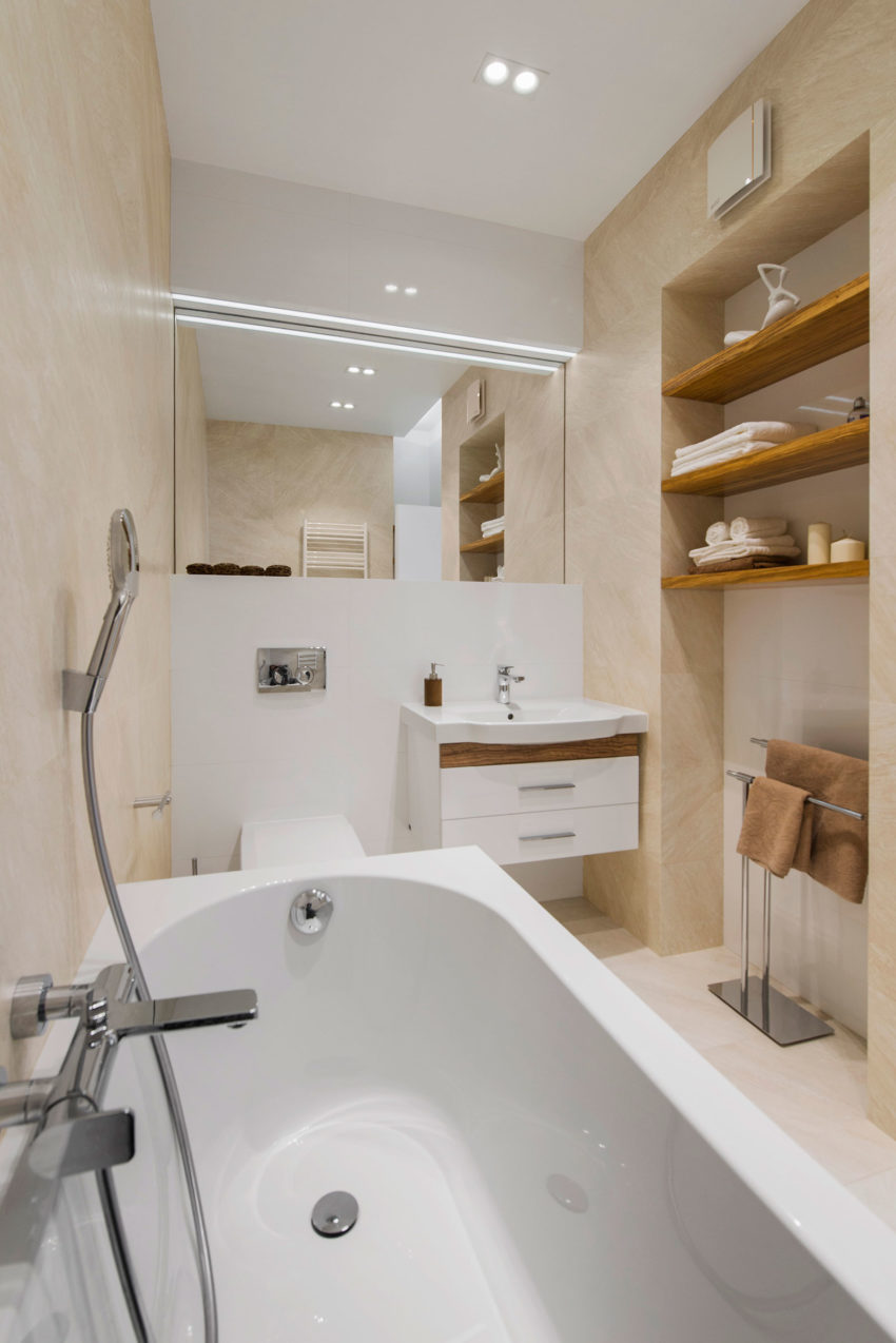 Tikhonov Dsgn Creates Tiny Apartment Interior in Moscow (17)