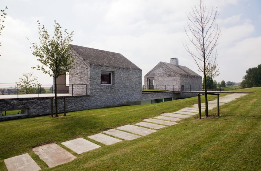 Villa H in W by Stéphane Beel Architect (3)