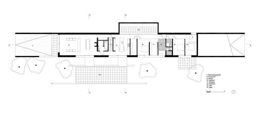 Villa H in W by Stéphane Beel Architect (16)