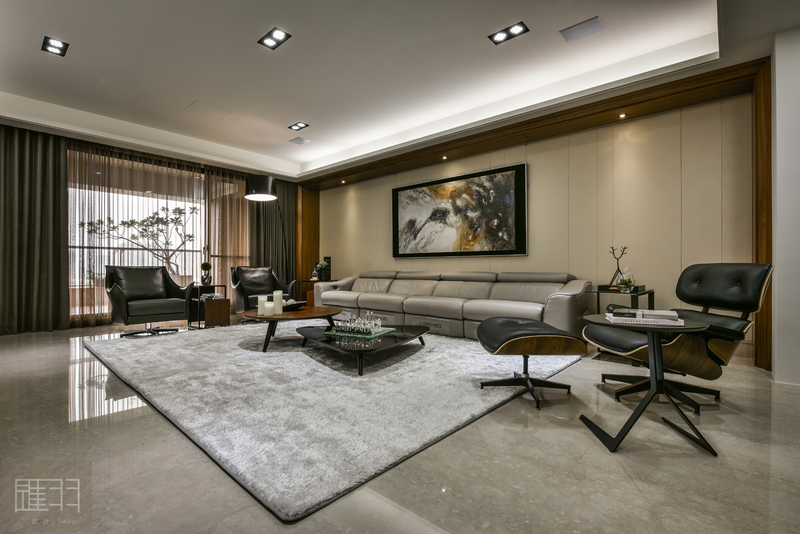 A spacious apartment full of contemporary elegance for Apartment design your destiny winner