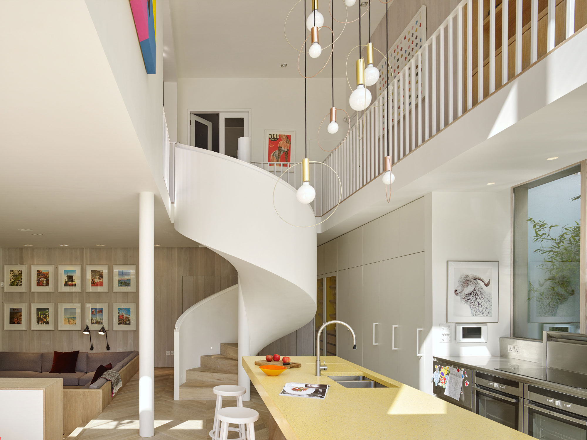 Andy Martin Architecture Refurbish a 5-Bedroom Edwardian Home in London