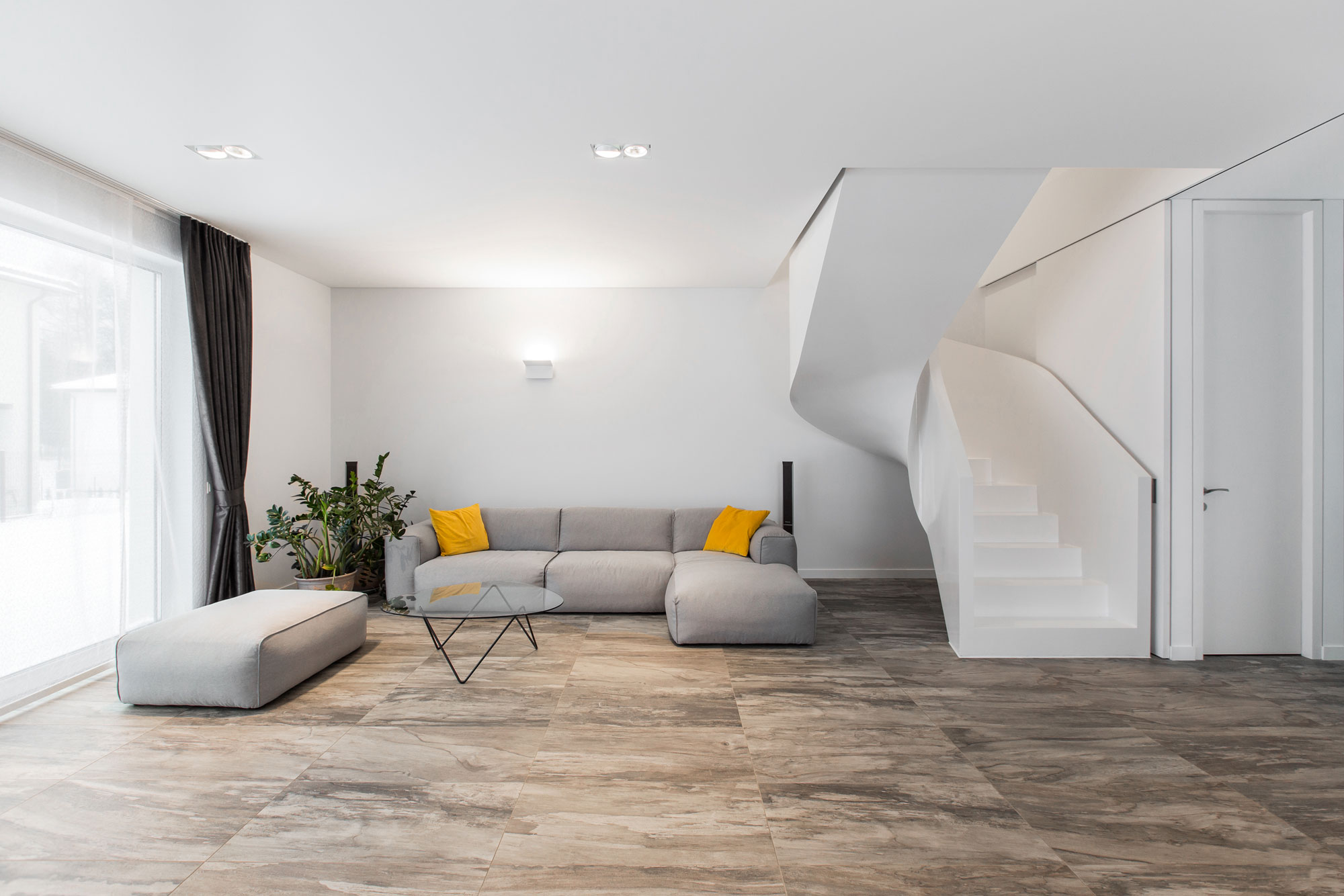 Minimalist Living Room Without Sofa