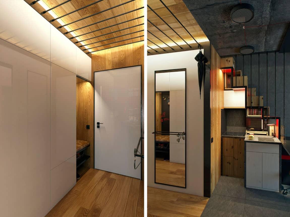 Teeny Tiny Apartment in Kharkov by One Studio (1)