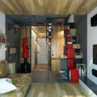 Teeny Tiny Apartment in Kharkov by One Studio (6)