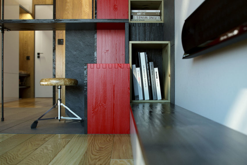 Teeny Tiny Apartment in Kharkov by One Studio (8)