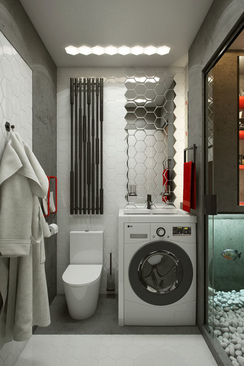 Teeny Tiny Apartment in Kharkov by One Studio (15)
