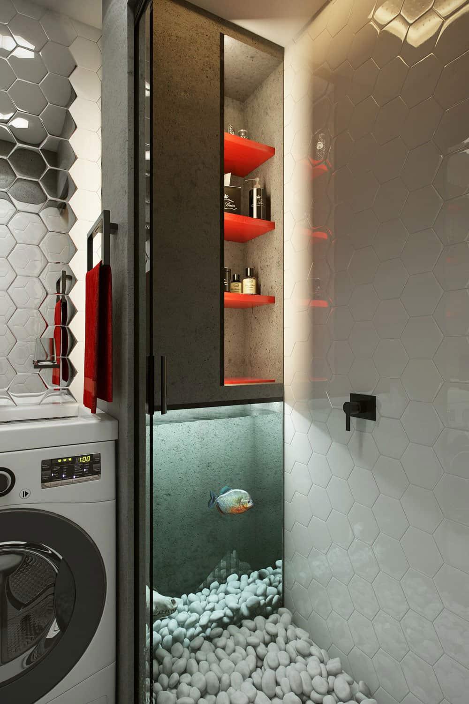 Teeny Tiny Apartment in Kharkov by One Studio (17)