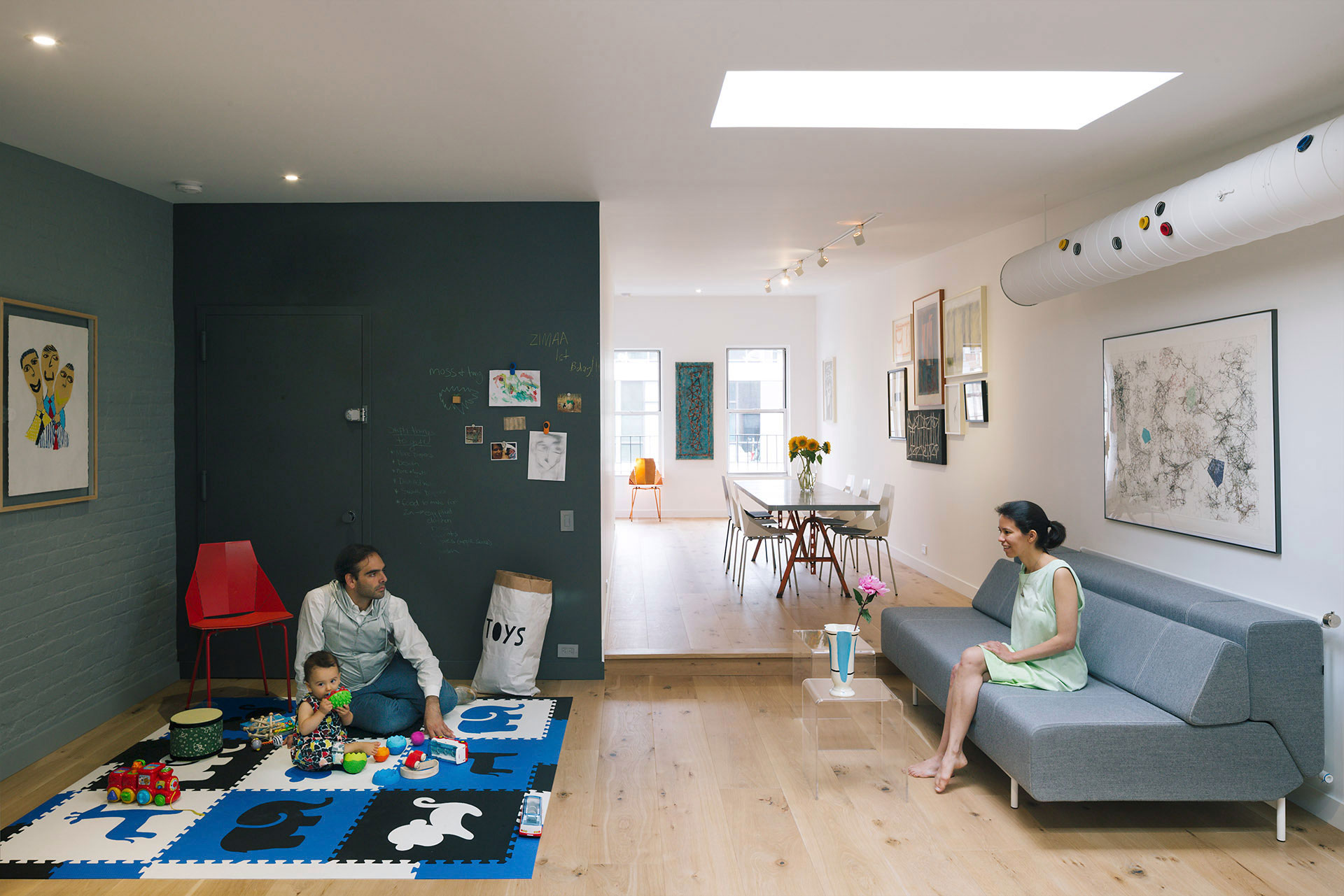 Studio Esnal Complete a Contemporary Renovation in Tribeca