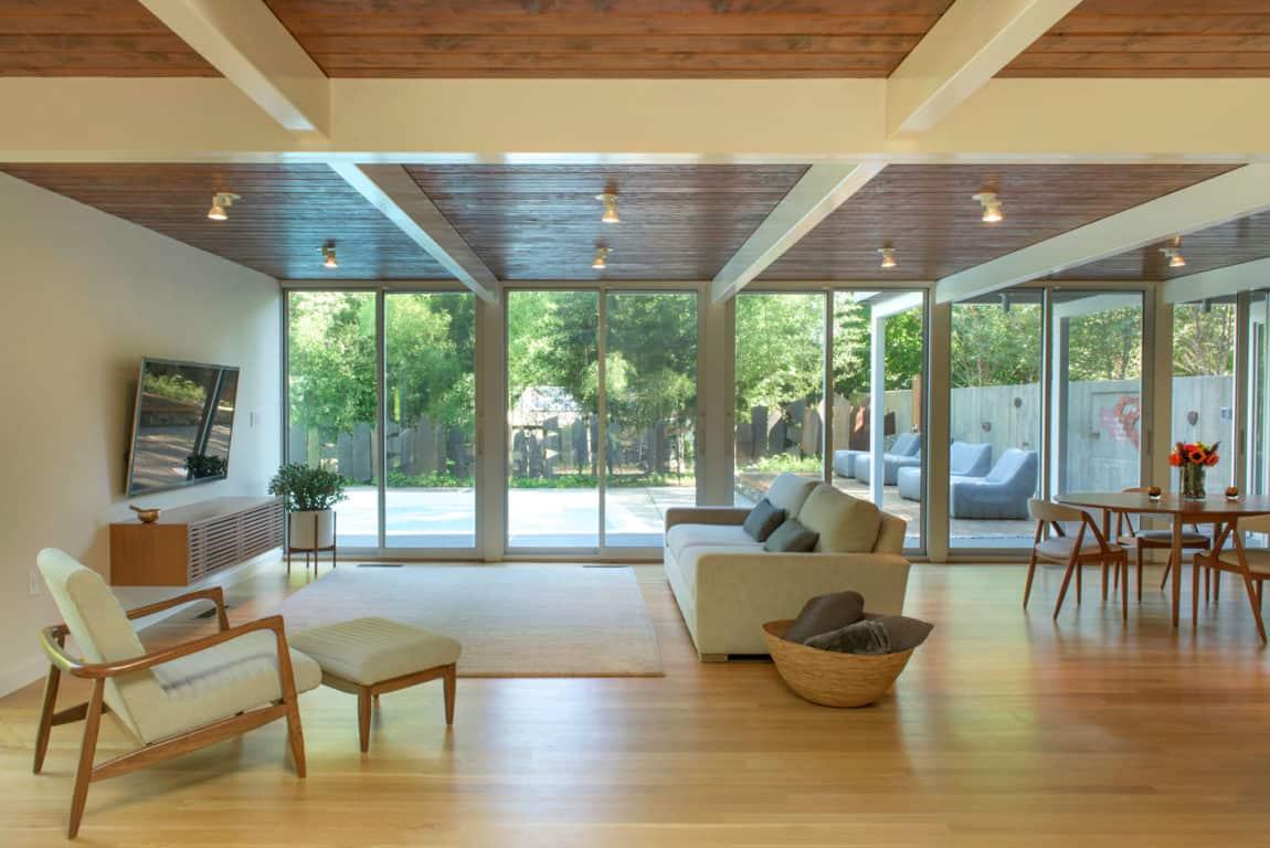 Chestnut Hill Modern Renovation by Hammer Architects (7)
