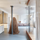 Glass & Walnut Loft by CUT Architectures (1)