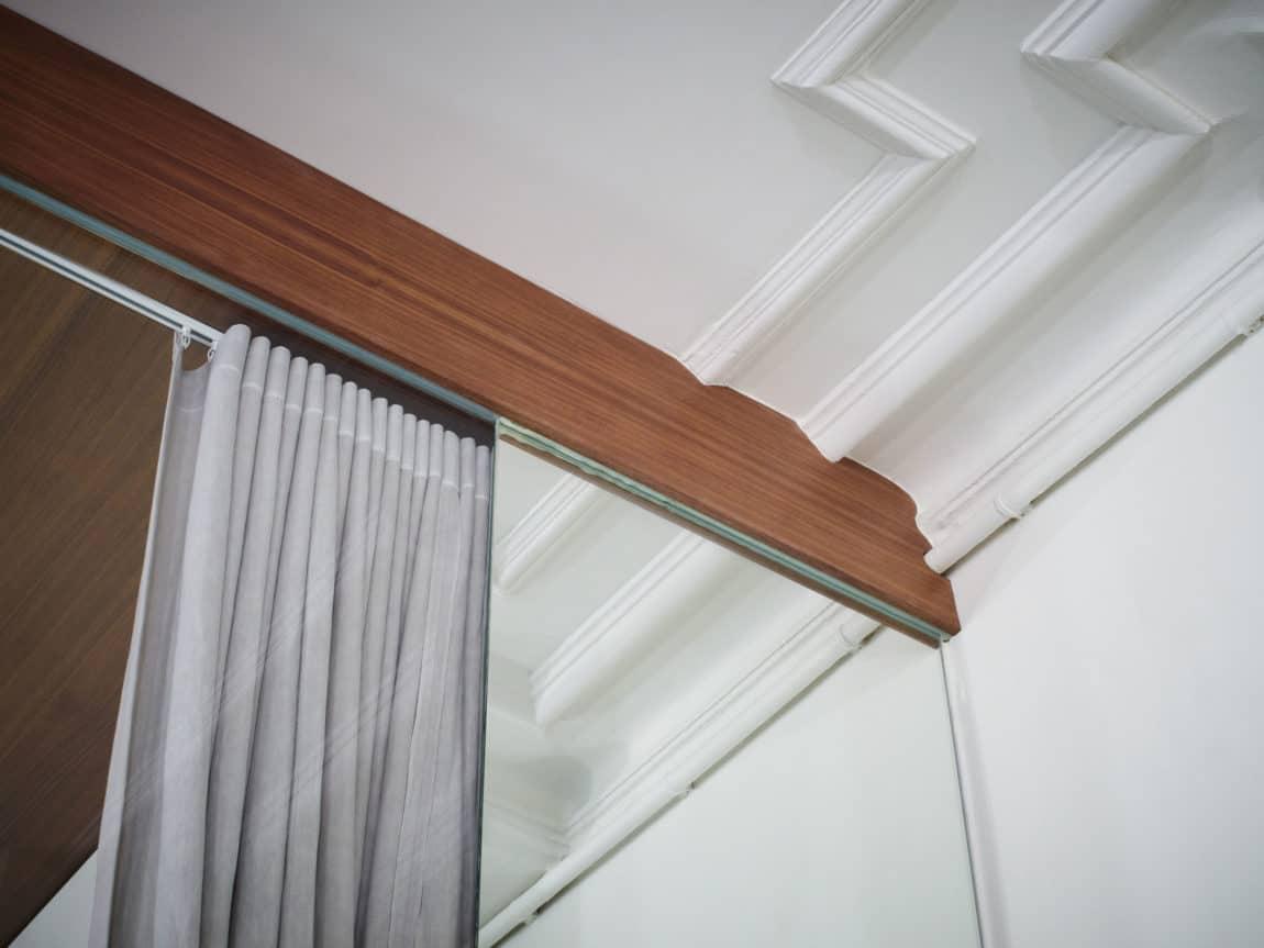 Glass & Walnut Loft by CUT Architectures (4)