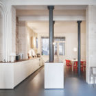 Glass & Walnut Loft by CUT Architectures (15)